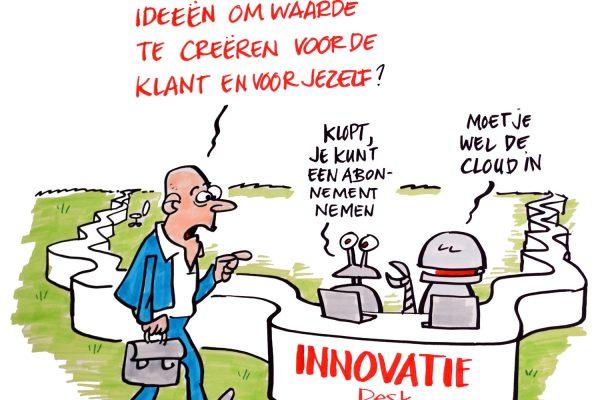 Innovatie is eindeloos